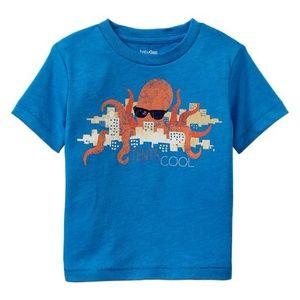 Baby Gap shirt Octopus sunglasses city tenta cool